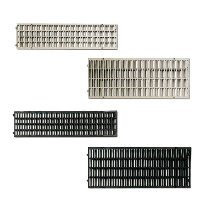 Polypropylene grating for modular channel